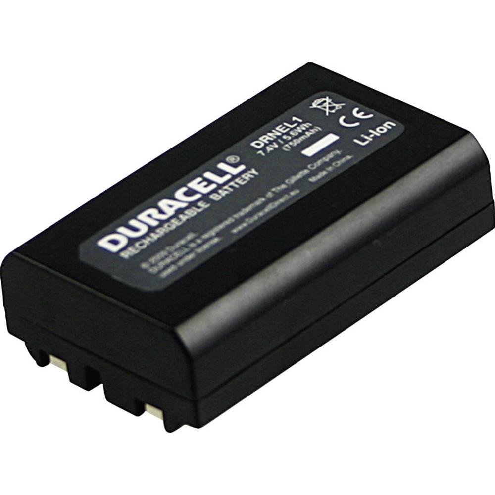 Duracell EN-EL1 Camera-accu Vervangt originele accu NP-8 7.4 V 750 mAh