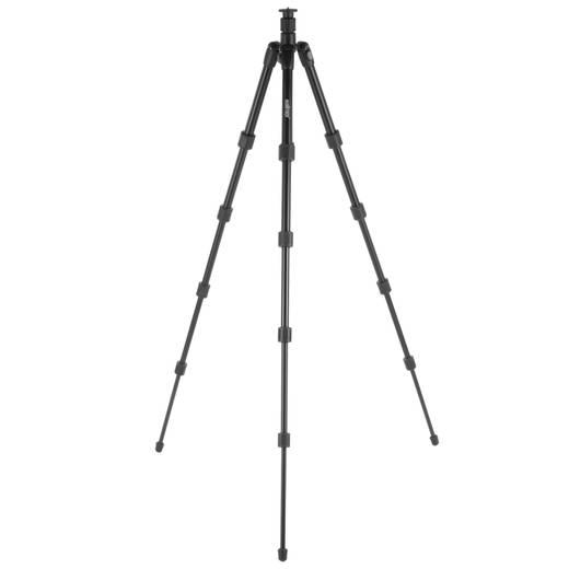 Dreibeinstativ Walimex 16519 1/4 Zoll Arbeitshöhe=39 - 150 cm Schwarz inkl. Tasche