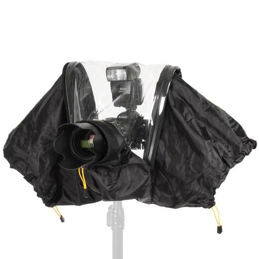 walimex Regenschutzhülle XL für SLR Kameras 17019 Walimex
