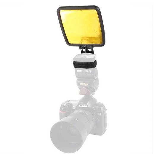 Reflektor-Aufsatz Walimex Reflektor-Aufsatz für Kompaktblitze