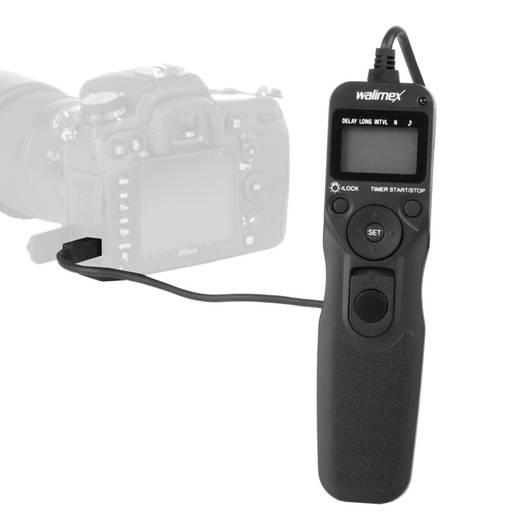Timerfernauslöser Walimex Canon C3