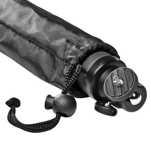Tischstativ Walimex Easy Tisch- & Kamerastativ 1/4 Zoll Arbeitshöhe=35 - 38 cm Schwarz inkl. Tasche