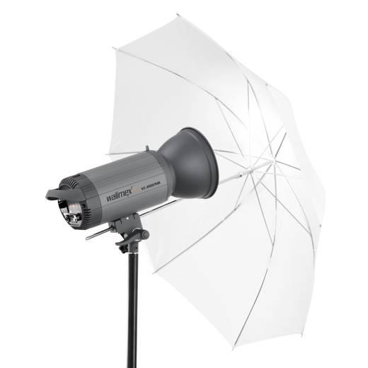 Durchlichtschirm Walimex Pro 2in1 Reflexschirm weiß (Ø) 109 cm 1 St.