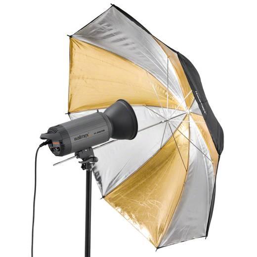 Reflexschirm Walimex Pro Dual gold/silber (Ø) 109 cm 1 St.