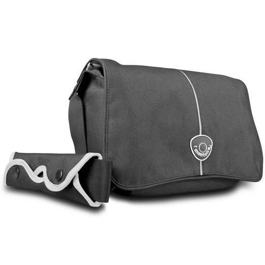 Kameratasche Mantona Cool Bag schwarz/weiß Innenmaß (B x H x T) 175 x 270 x 115 mm