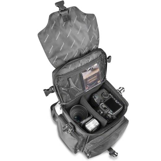 Kameratasche Mantona Zirkon Innenmaß (B x H x T) 250 x 235 x 185 mm Regenschutz