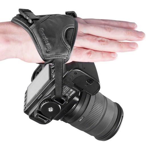 Kamera Handschlaufe Mantona First Class längenverstellbar