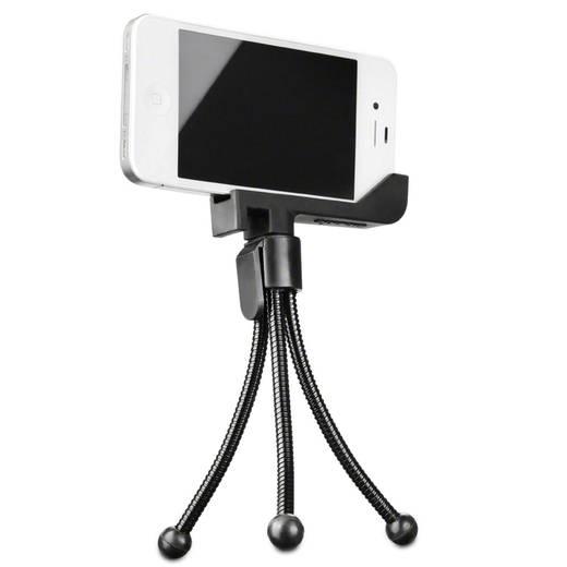 Dreibeinstativ Walimex Halterung für Apple iPhone 4/4S mit Stativ