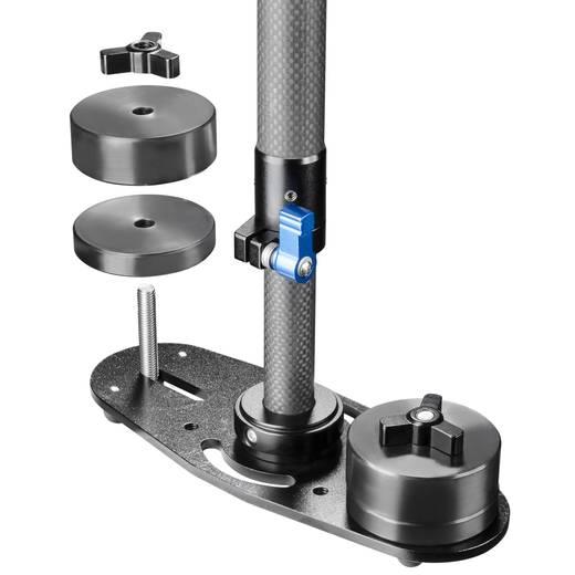 Gimbal mechanisch Walimex Pro StabyPod Carbo 1/4 Zoll Schwarz