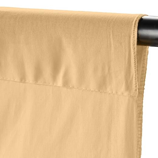 Stoffhintergrund Walimex (L x B) 6 m x 2.85 m Sand-Gelb (matt)