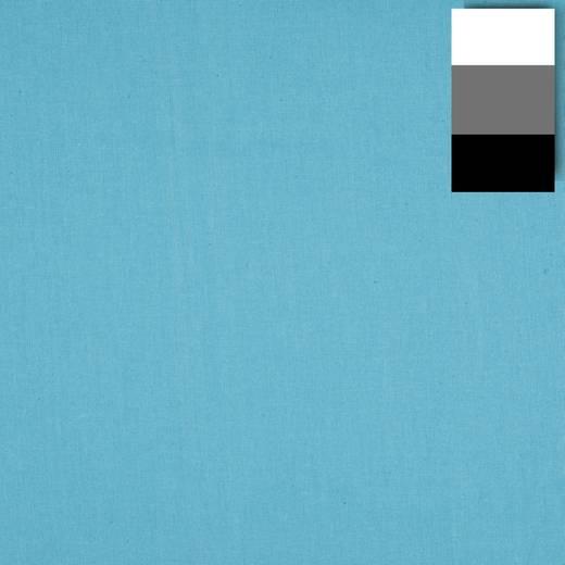 Stoffhintergrund Walimex (L x B) 6 m x 2.85 m Türkis