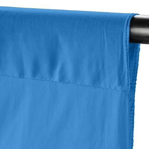 Stoffhintergrund Walimex (L x B) 6 m x 2.85 m Licht-Blau