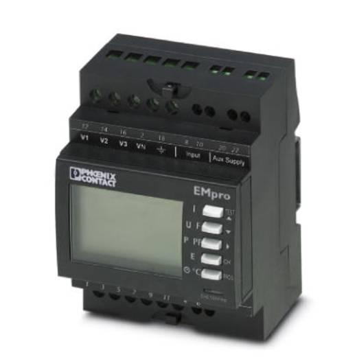 Phoenix Contact EEM-MA200 - Messgerät zur Messung elektrischer Parameter in Niederspannungsanlagen bis 500 V, Erfassung