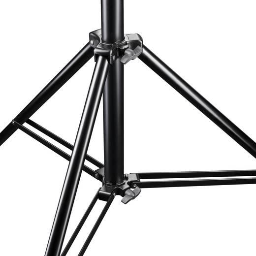 Lampenstativ Walimex Pro Arbeitshöhe= 123 - 380 cm