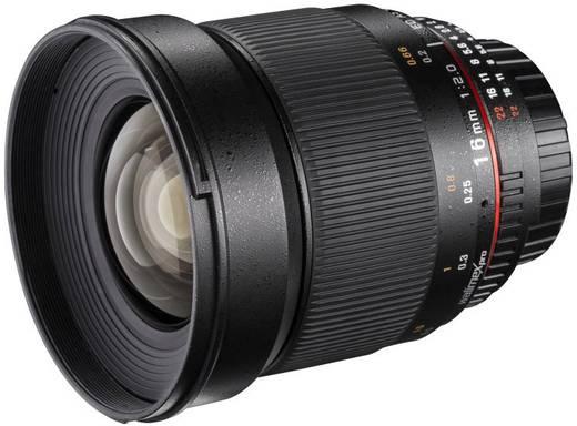 Weitwinkel-Objektiv Walimex Pro 16/2,0 f/1 - 2.0 16 mm