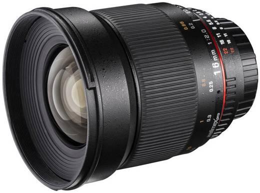 Weitwinkel-Objektiv Walimex Pro 16/2,0 pour Fujifilm X f/1 - 2.0 16 mm