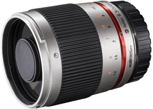 Tele-Objektiv Walimex Pro Teleobjektiv silber f/1 - 6.3 300 mm