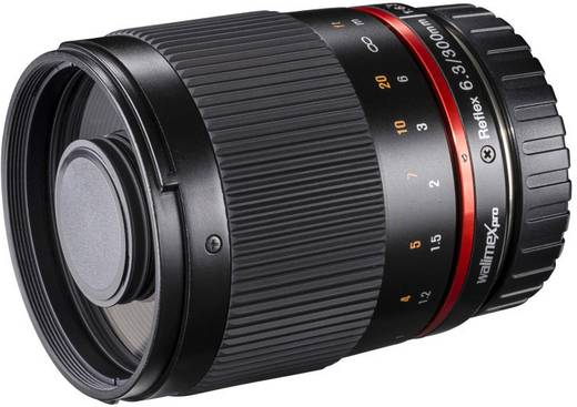 Tele-Objektiv Walimex Pro Teleobjektiv schwarz f/1 - 6.3 300 mm