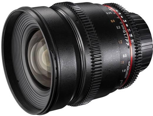 Weitwinkel-Objektiv Walimex Pro 16/2,2 VDSLR pour Canon f/1 - 2.2 16 mm