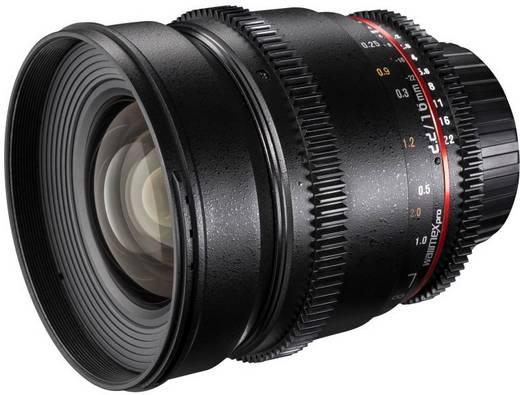 Weitwinkel-Objektiv Walimex Pro 16/2,2 VDSLR pour micro 4/3 f/1 - 2.2 16 mm