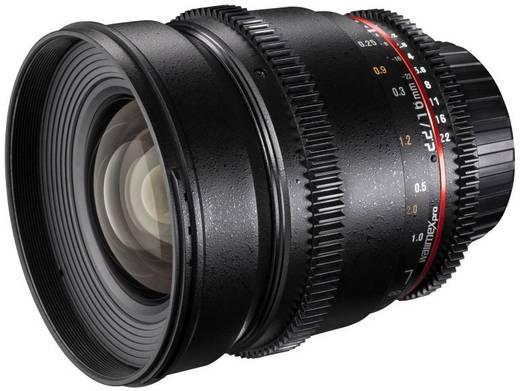 Weitwinkel-Objektiv Walimex 16/2,2 VDSLR pour Pentax f/1 - 2.2 16 mm