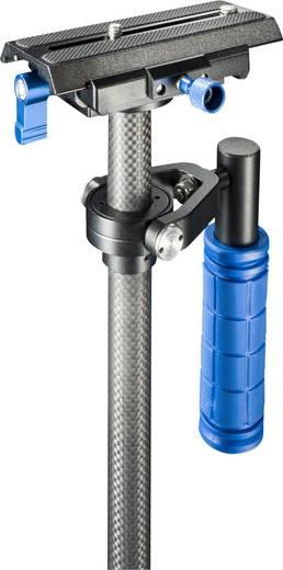 Gimbal mechanisch Walimex Pro Schwebestativ StabyPod S 60cm 1/4 Zoll Schwarz/Blau inkl. Tasche