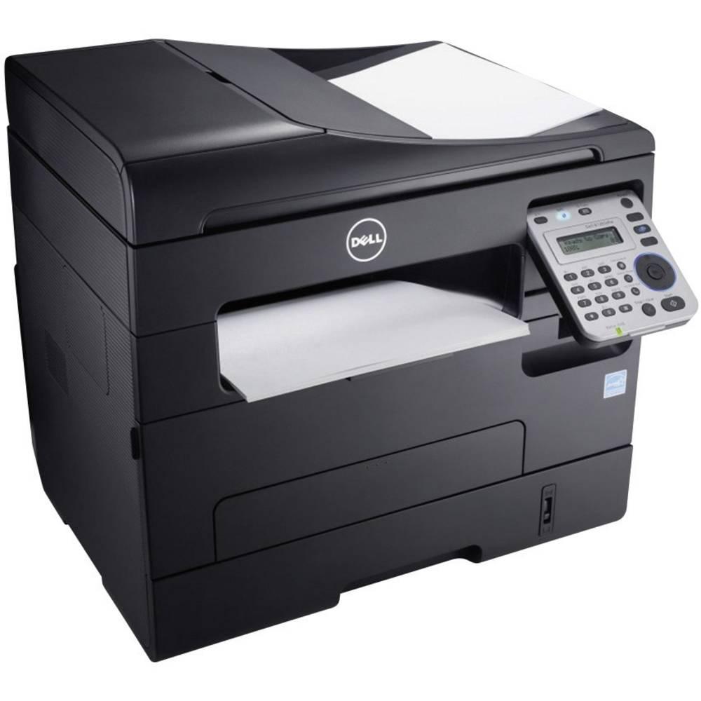 imprimante multifonction laser dell b1265dfw a4 noire fax wifi. Black Bedroom Furniture Sets. Home Design Ideas