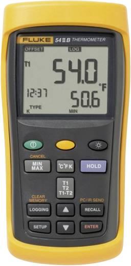 Fluke 53-2 50 B HZ Temperatur-Messgerät -250 bis +1767 °C Fühler-Typ E, J, K, N, R, S, T Kalibriert nach: ISO