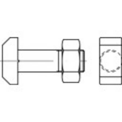 TOOLCRAFT 106198 Hammerkopfschrauben M10 40 mm DIN 261 Stahl 25 St.
