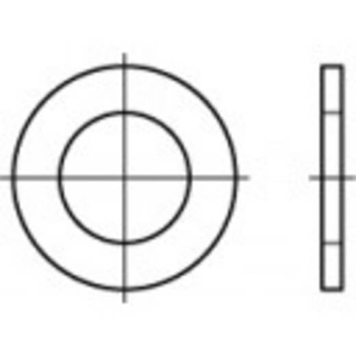 TOOLCRAFT 106694 Unterlegscheiben Innen-Durchmesser: 21 mm DIN 433 Stahl 100 St.