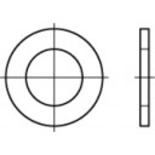 TOOLCRAFT 106700 Unterlegscheiben Innen-Durchmesser: 4.3 mm DIN 433 Stahl galvanisch verzinkt 500 St.