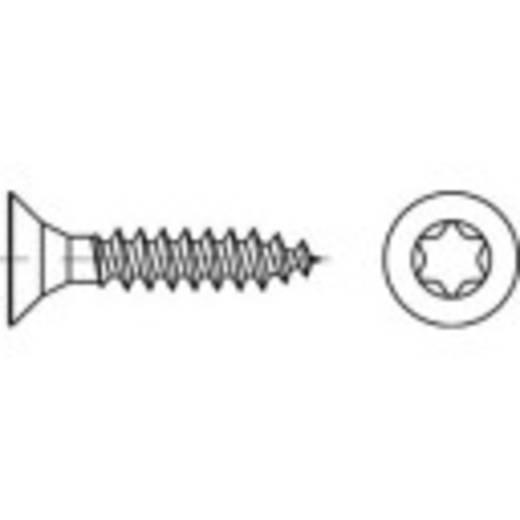 Senkschrauben 4 mm 35 mm T-Profil 88098 Edelstahl A2 1000 St. TOOLCRAFT 1069786