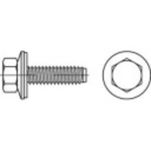 Fassadenschrauben 6.3 mm 115 mm Außensechskant 88276 Edelstahl A2 100 St. TOOLCRAFT 1070014