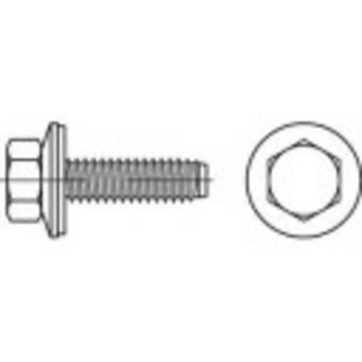 Fassadenschrauben 6.3 mm 90 mm Außensechskant 88276 Edelstahl A2 150 St. TOOLCRAFT 1070012