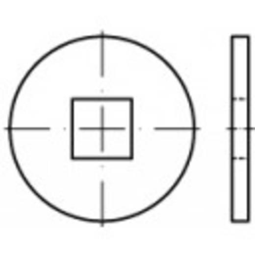 TOOLCRAFT 107033 Unterlegscheiben Innen-Durchmesser: 6.6 mm DIN 440 Stahl galvanisch verzinkt 100 St.