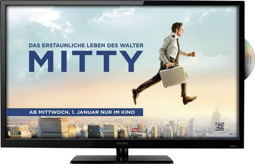 Dyon C32D+ LED-TV mit integriertem DVD-Player