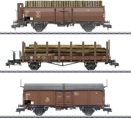 Märklin 58229 Spur 1 3er-Set Güterwagen Holzverladung der DB