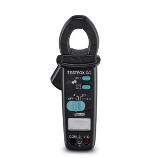 Stromzange, Hand-Multimeter digital Phoenix Contact TESTFOX CC Kalibriert nach: Werksstandard (ohne Zertifikat) CAT III