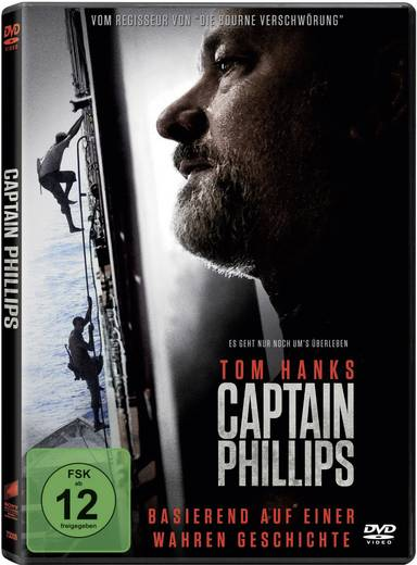 DVD Captain Phillips FSK: 12