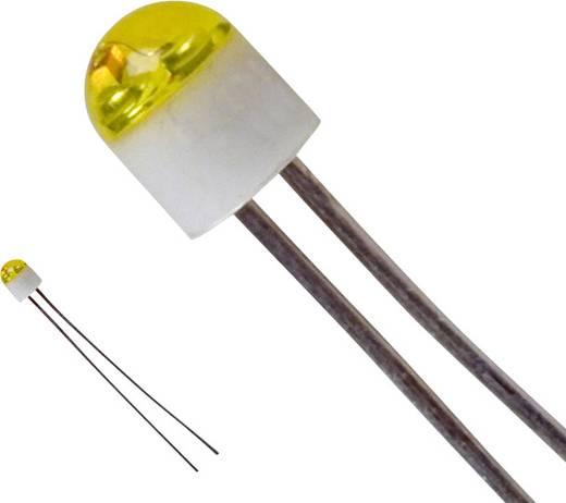 LED bedrahtet Gelb Rund 2 mm 6 mcd 160 ° 30 mA 2.1 V LUMEX SSL-LX203CYT