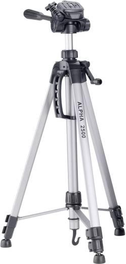 Dreibeinstativ Cullmann Alpha 2500 Arbeitshöhe=63 - 165 cm Silber inkl. Tasche