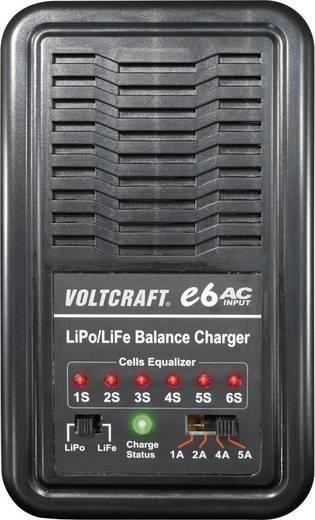 Modellbau-Ladegerät 110 V, 220 V 5 A VOLTCRAFT e6 LiPo, LiFePO