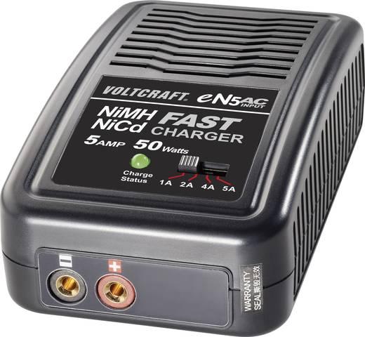 Modellbau-Ladegerät 230 V 5 A VOLTCRAFT eN5 NiMH, NiCd