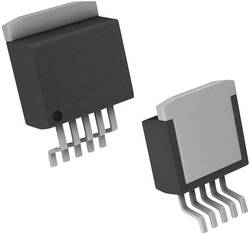 PMIC - Régulateur de tension - linéaire (LDO) Linear Technology LT1129IQ#TRPBF Positive, Réglable DDPAK-5 1 pc(s)