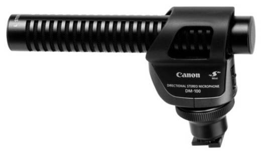 Kamera-Mikrofon Canon DM-100 Richtmikrofon Blitzschuh-Montage