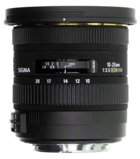 Weitwinkel-Objektiv Sigma Foto EX 3,5/10-20 DC HSM SO/AF f/3.5 10 - 20 mm