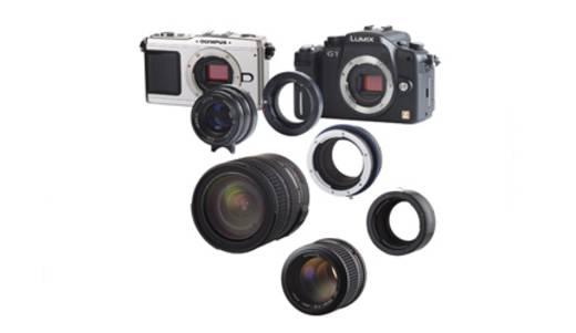 Objektivadapter Novoflex Adaptater obj. Leica R für Micro 4/3 Adaptiert: Leica R - Four Thirds