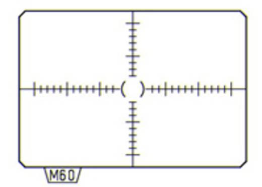 Pentax Mattscheibe MI-60 38580