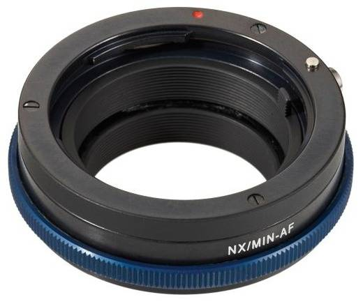 Objektivadapter Novoflex Adaptater Sony Alpha / Minolta AF Adaptiert: Minolta-A, Sony-A - Samsung NX