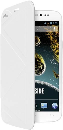 WIKO Flip Cover Flip Cover Passend für: Wiko Darkside Weiß